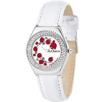 Watch So Charm Watches MF316-COQUELICOT-BLANC - Women's Watch