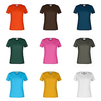 James And Nicholson Womens/Ladies Round Neck T-Shirt base