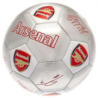 Arsenal FC Printed Players Signatures Signed Football