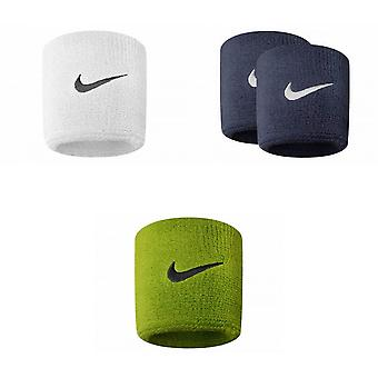 Nike Unisex Adults Swoosh Wristband (Set Of 2)