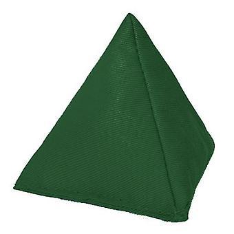 Gardenista - France Tissu de coton durable (fr) Triangulaire en forme Juggling Throw Bean Bag ( Jeux de jardin PE et Sports (fr) À l'intérieur et à l'extérieur Vert