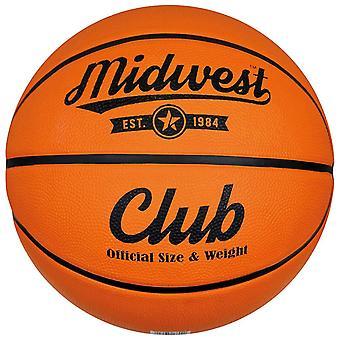Midwest Club Indoor Al Aire Libre Pelota de Baloncesto Naranja