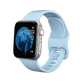 Pulseira Apple Watch 38/40 silicone - Azul claro
