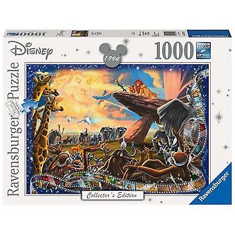 Ravensburger Jig Saw Puzzle Disney Collectors Edition Lion King 1000 Piece 19747
