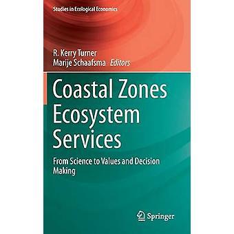 Rannikko seutujen ekosysteemipalvelut, jotka ovat Turnerin & R. Kerryn tekemiä arvoja ja päätöksen tekoa