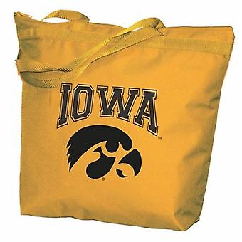 Iowa Hawkeyes NCAA Zipper Tote Bag