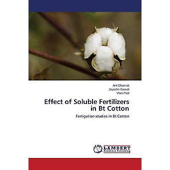 Efecto de los fertilizantes solubles en algodón Bt de Dhamak Anil