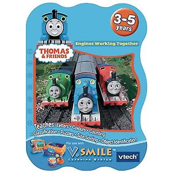 VTech VSmile Thomas & Friends Motori working Together Learning Game