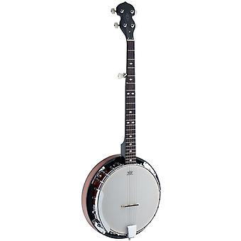Stagg BJW24 Deluxe Western 5 String Banjo