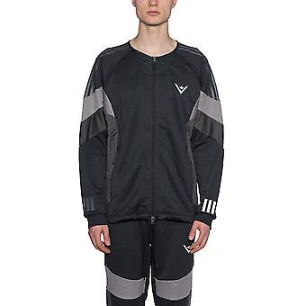 Adidas X Weiß Bergsteigen Ezcr024013 Männer's schwarz Nylon Outerwear Jacke
