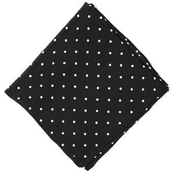 Michelsons af London Polka Dot silke tørklæde - sort
