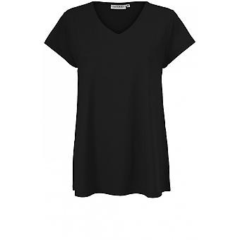 Masai Clothing Digna Black Jersey Top