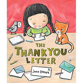 The Thank You Letter by Jane Cabrera - 9780823442508 Book