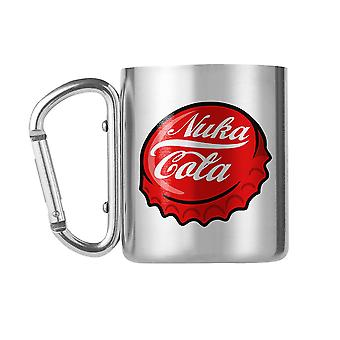 Fallout, Mug with Carabiner - Nuka Cola