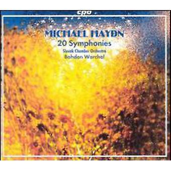 M. Haydn - Michael Haydn: 20 sinfonías [CD] USA importación