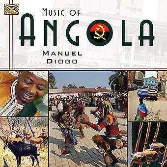 Manuel Diogo - muziek van Angola [CD] USA import