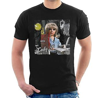Thunderbirds Lady P Newspaper Style Men's T-Shirt