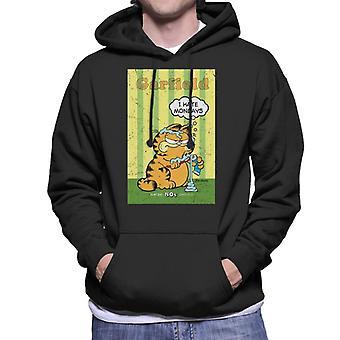 Garfield knorrige ik haat maandag tand plakken overal mannen ' s Hooded Sweatshirt