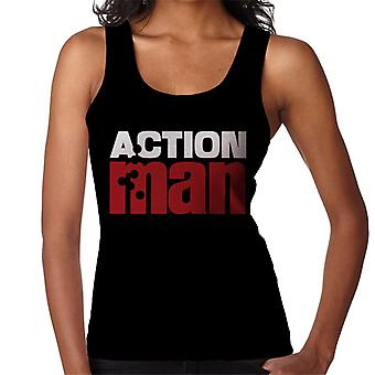 Action Man Logo Bullet Hole Women's Vest