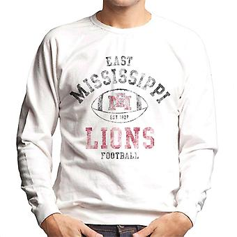 East Mississippi Community College Lions Football Men's Sweatshirt