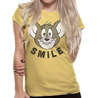 Tom et Jerry Womens / Ladies Adults Smile T-Shirt