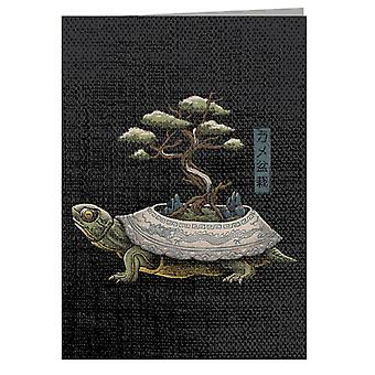 The Legendary Kame Turtle Greeting Card