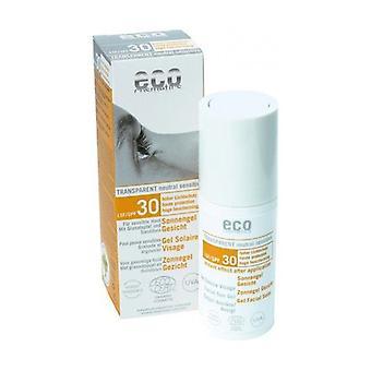 F30 Gel Facial Sun Cream 30 ml of gel