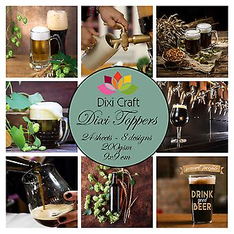 Dixi Craft Beer 9x9 cm Toppers