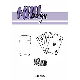 NHH Design Poker Clear Stamps