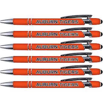 Greeting Pen Auburn Soft Touch Coated Metal 6 Pack 30511