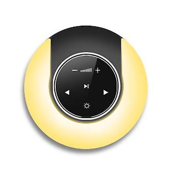 Night light langaton bluetooth-kaiutin stereo ääni sormitip touch kaiutin lamppu äänisoitin