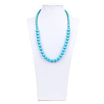 Ciclo Silicone Teething Necklace - Bumkin - Blue New SJC-BLU