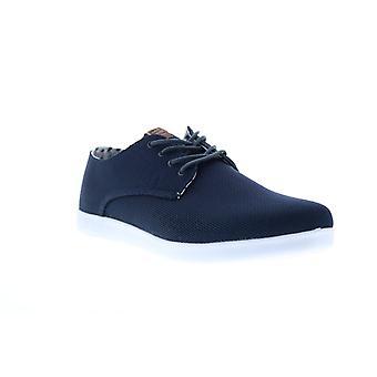 Ben Sherman Parnell Oxford  Mens Blue Mesh Lifestyle Sneakers Shoes