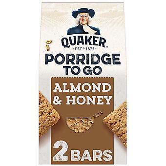 Quaker Porridge To Go Almond & Honey Breakfast Bars