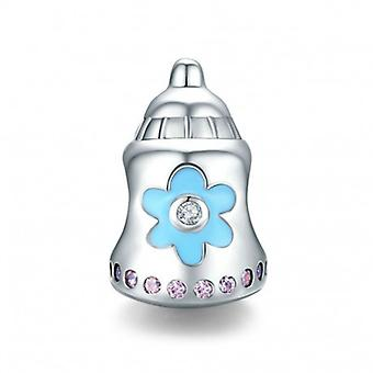 Sterling Silver Charm Baby's Bottle - 6767