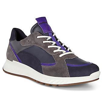 Ecco Womens 2020 ST1 Fluidform shock Thru cushioned sneaker läder utbildare