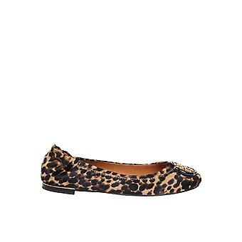 Tory Burch 76766227 Women's Leopard Leather Flats