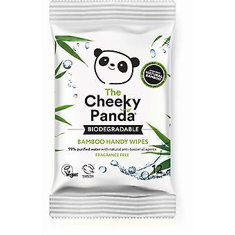 Cheeky Panda Bamboo Biodegradable Handy Wipes