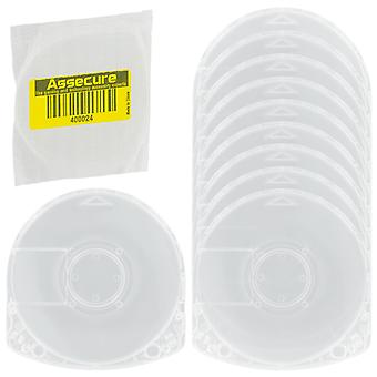 Umd case for psp sony replacement game movie disc casing shell - 10 pack | zedlabz