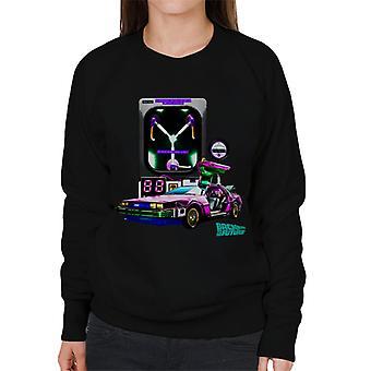 Back to the Future DMC Condensator Women's Sweatshirt