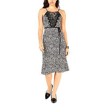 J.O.A. | Lace Trim Maxi Slip Dress