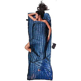Cocoon Travel Sheet Coupler Silk (Checked Silk)