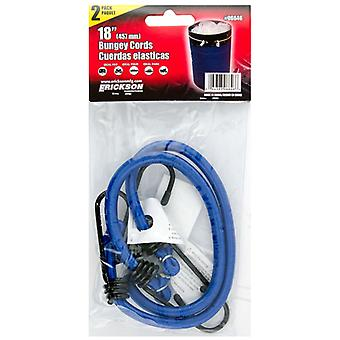 """Erickson 6646 Bungee 18"""" Cords - 2 Pack"""