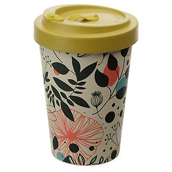 Bamboo Composite Wisewood Botanical Screw Top Travel Mug X 1 Pack