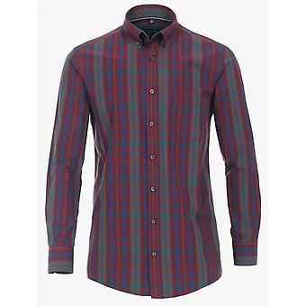 CASA MODA Casa Moda Check Cotton Casual Shirt