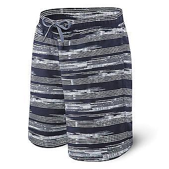 Saxx Cannonball Swim Shorts - Navy Point Break