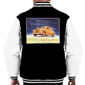 Austin For Sparkling Performance British Motor Heritage Men's Varsity Jacket