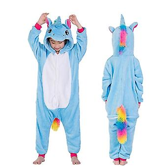 barn unicorn design pyjamas for sleepers kostyme - gutt jente jumspuit