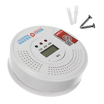 2in1 Smoke Alarm CO Carbon monoxide integrated alarm Detector Warn Sensor LCD