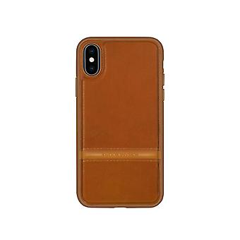 Leather Case for Apple iPhone XS MAX Brown donghong-9